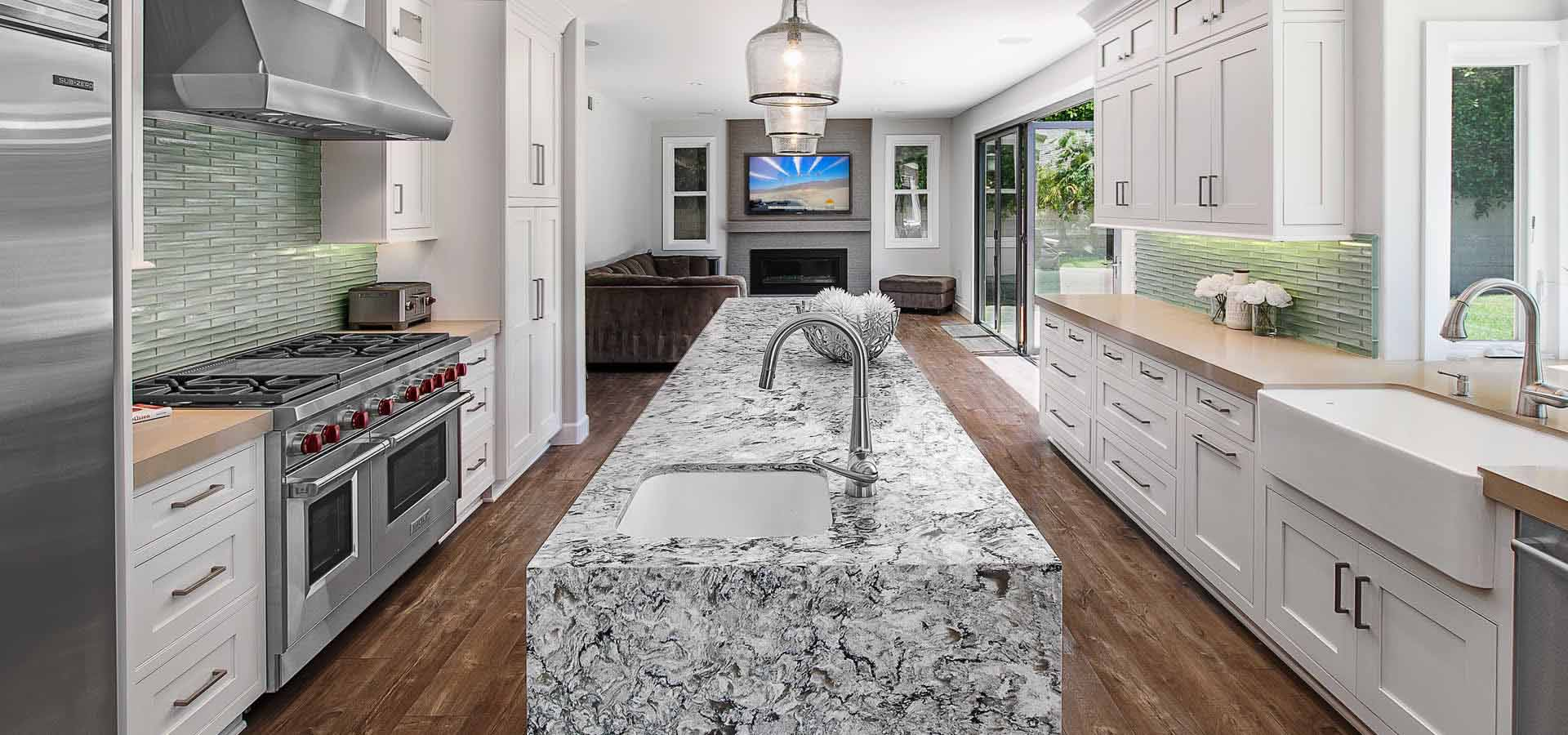 Full kitchen remodeling in Capo by Preferred Kitchen and Bath