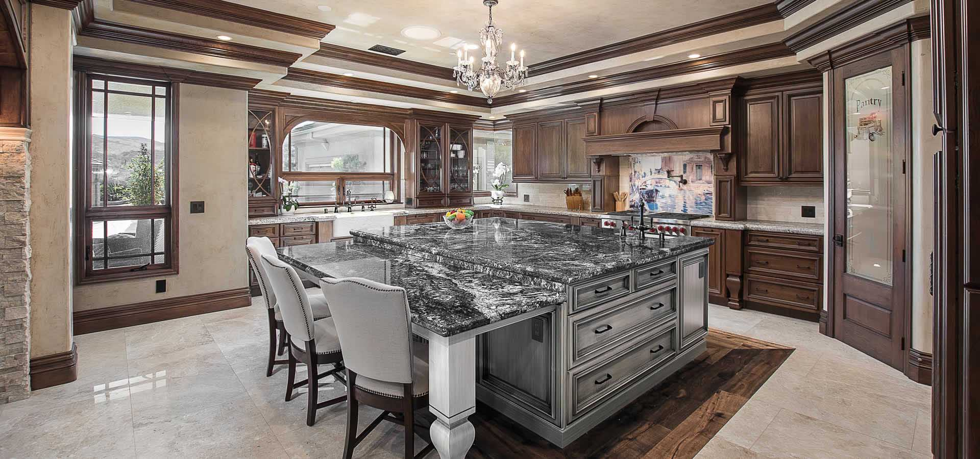 Full kitchen remodeling in San Clemente by Preferred Kitchen and Bath