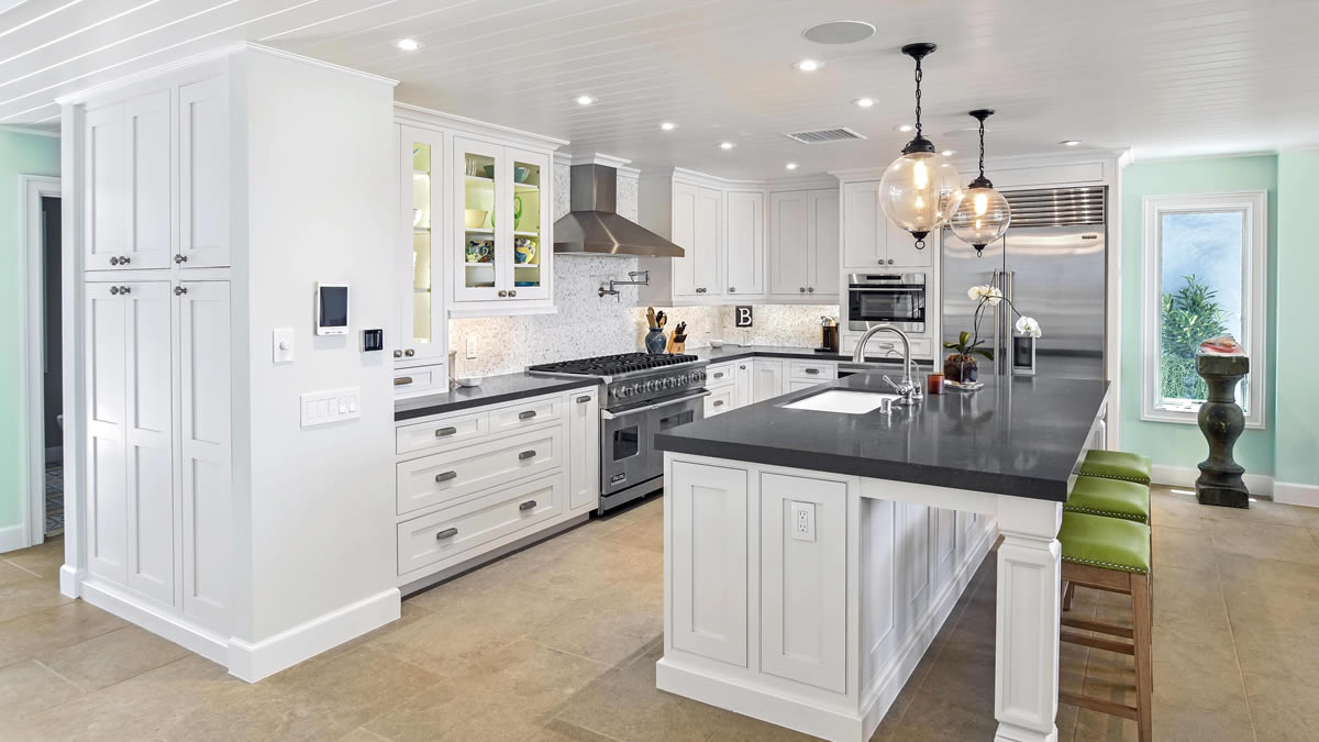 Custom kitchen cabinets in Dana Point by Preferred Kitchen and Bath