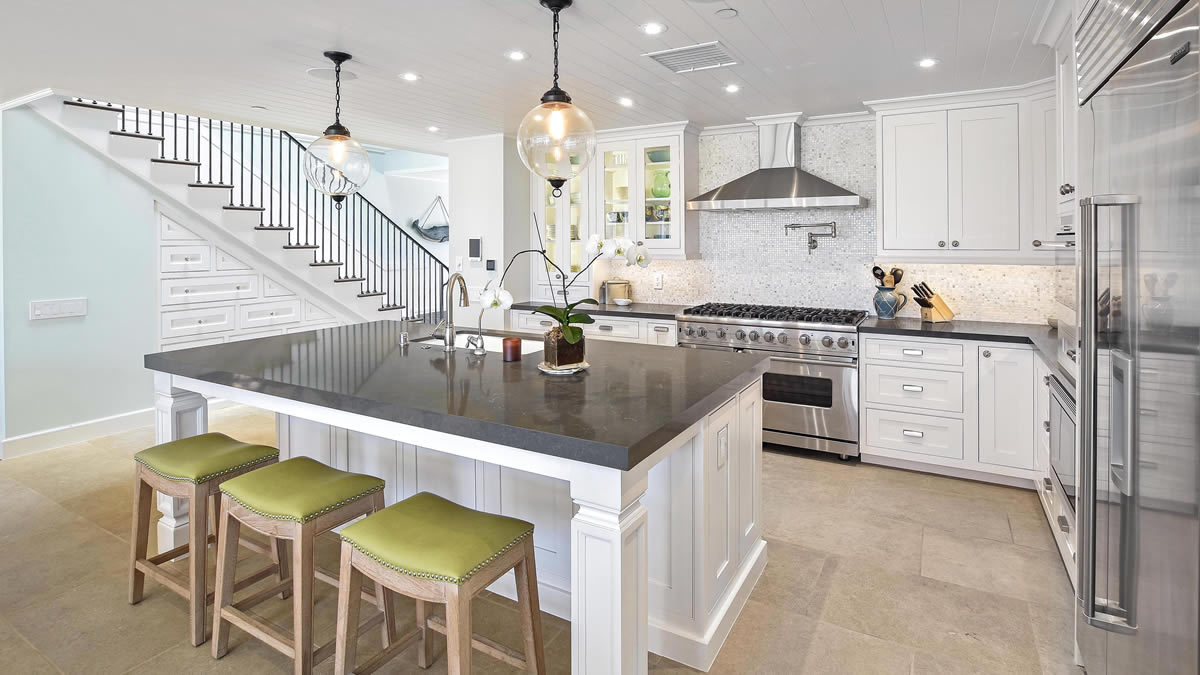 Kitchen Flooring in Dana Point by Preferred Kitchen and bath