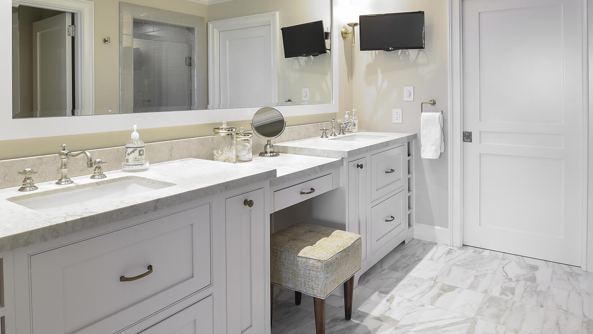 Small Bath Renovation Dana Point by Preferred Kitchen and Bath