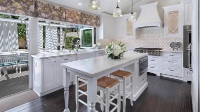 Kitchen Flooring in Costa Mesa by Preferred Kitchen and Bath