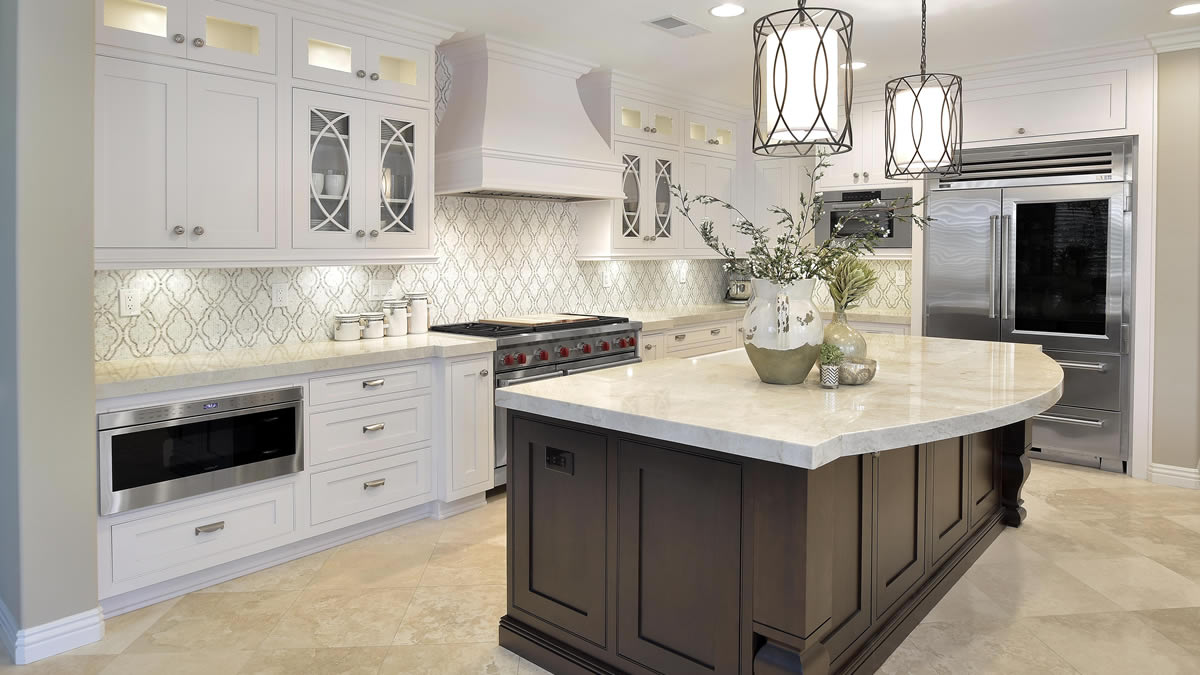 Custom cabinets in Coto De Caza by Preferred Kitchen and Bath
