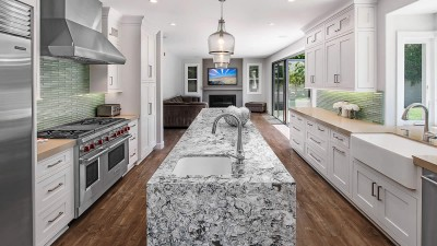 Kitchen countertops in Mission Viejo by Preferred Kitchen and bath