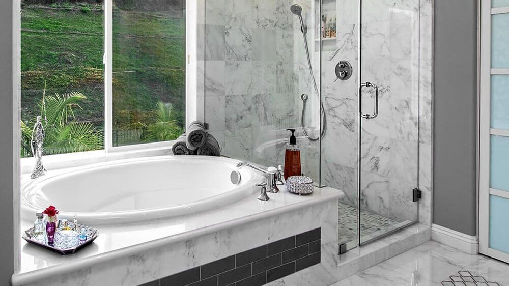 Modern Bath Remodel by Preferred Kitchen and Bath
